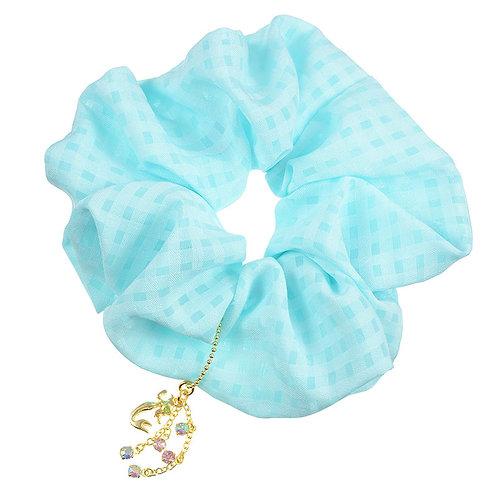 Scrunchie Hair Decoration : Little Mermaid Color Shiny Diamond Hair Scrunchie