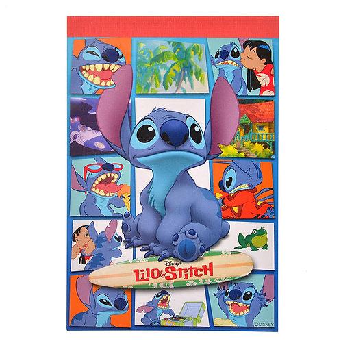 A6  Memo pad : Lilo & Stitch Story