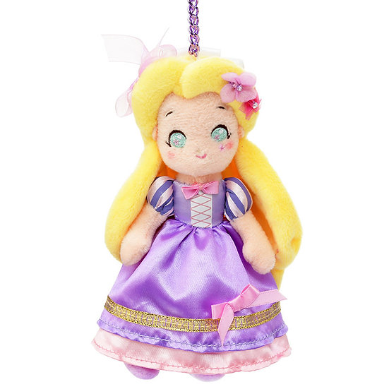 Plushie Keychain Series : Pink Ribbon Princess series Rapunzel Plushie Keychain