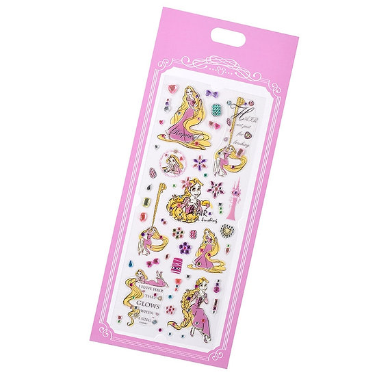 Long Pack Sticker Collection - Stone sticker Jewel Rapunzel