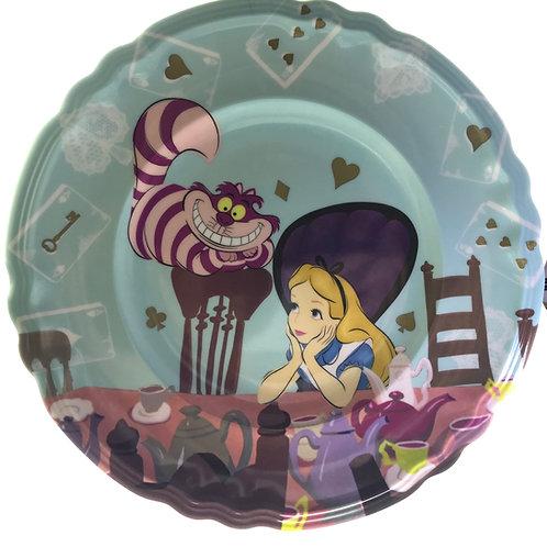 Tableware Collection - Alice In Wonderland Tea Time Dessert plate