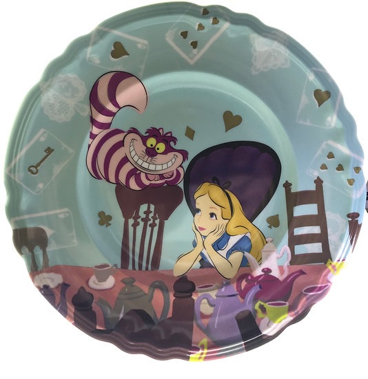 Tableware Collection - Alice In Wonderland Tea Time Dessert plate