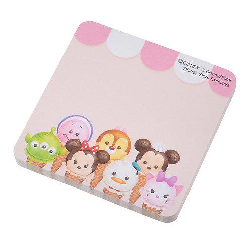 Memo Collection - Tsum Tsum Summer ice-cream Sticky Memo Pad