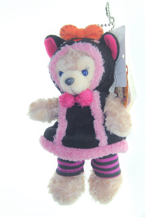 Duffy & Friend Collection - Shellie May Halloween Cat Coat Plushie Keychain