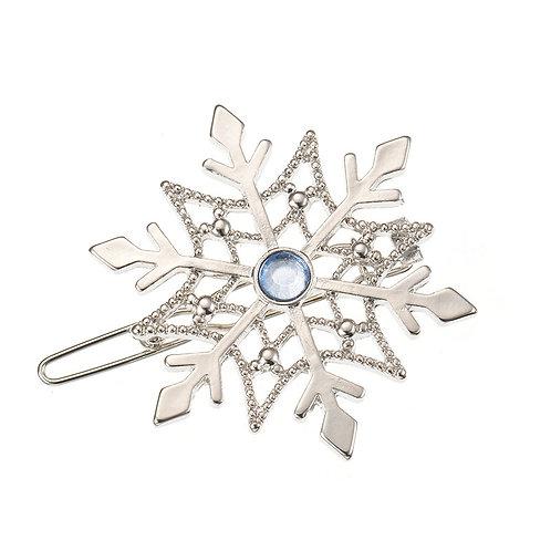 Hair Clip Collection - Christmas Frozen Elsa Snowflake Hair Clip