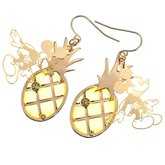 Earring Collection : Mickey Summer Trend Lucky Pineapple Earring