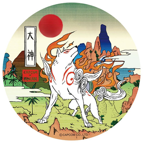 B-side Label Characters Sticker Collection - Okami Karin B- side Label Sticker