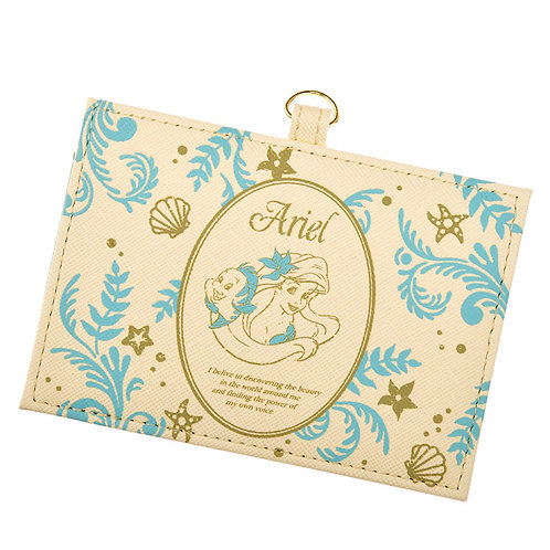 Card Case Collection : Ariel & Flounder leather card case