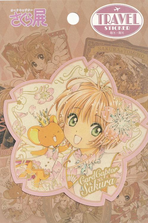 Decoration Sticker Collection -  Card Sakura Flower 2 Decor Sticker