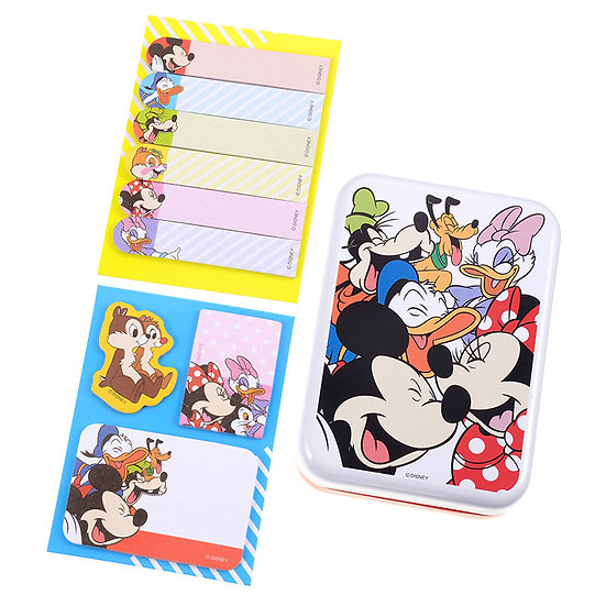 Memo Collection - Mickey and Friends Sticky Memo Tin Set