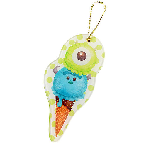 Ball Ring Keychain Collection - Tsum Tsum Ice-cream - Sally & Mike Mirror