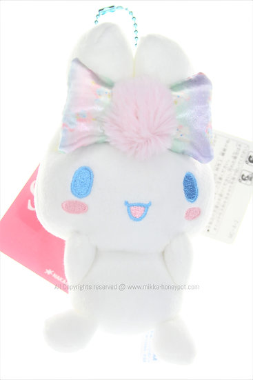 Plushie Keychain Collection - Cinnamoroll Colorful Ribbon Plushie Keychain