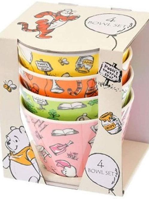 Kitchen Homeware - Winnie the Pooh Color Dessert Bowl Collection