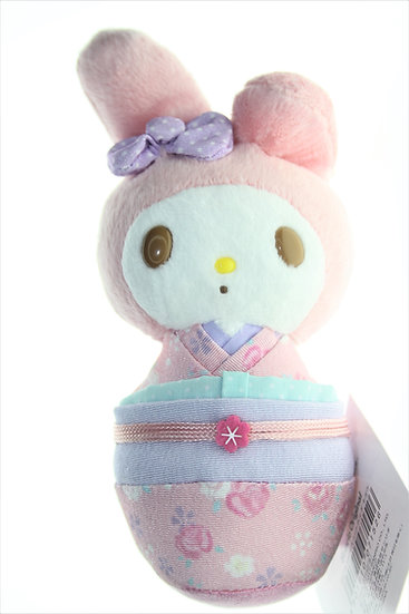 SANRIO Plushie Series : Kyoto Limited Edtion Sanrio beanbag stand My Melody