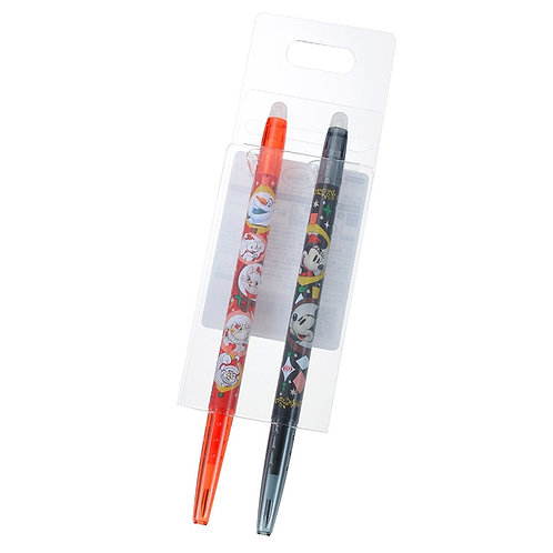 Frixion Series : White Christmas Mickey & Friends Disney 0.38 Frixion Pen Set