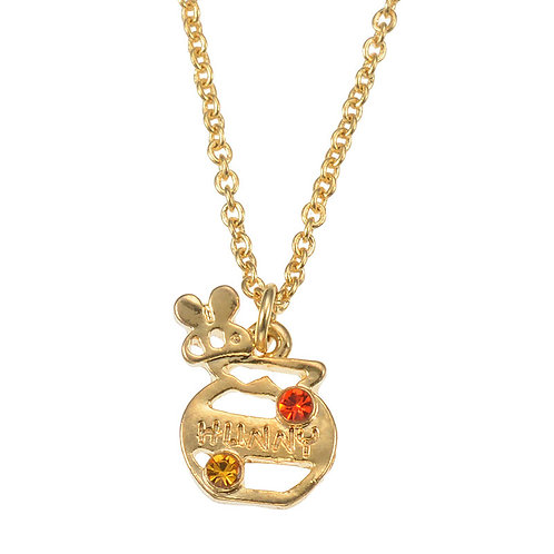 Amulet Pendant Series-Winnie the pooh Pot necklace