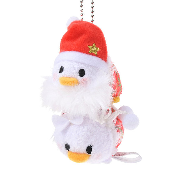 Tsum Tsum Collection -  Christmas Donald & Daisy Tsum Tsum Stack Stack Keychain