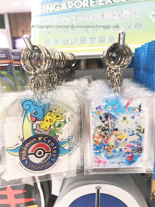 Pokemon [PO]- Singapore Jewel Changi Airport Exclusive keychain