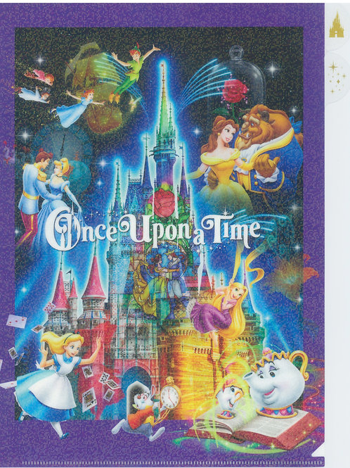File Series: Once upon a time Tokyo Disneyland Exclusive A4 + A6 File