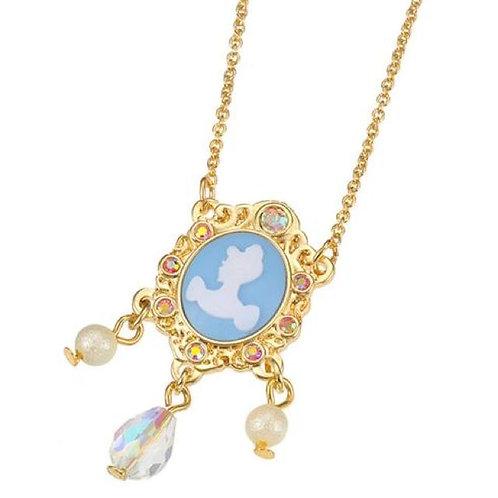 Necklace series -  Cinderella Elegant vintage brooch Charm Necklace
