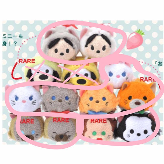 Marie Cat Series Tsum Tsum set Collection - LAST SET TO GET