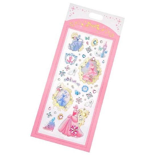Cinderella diamond crystal sticker