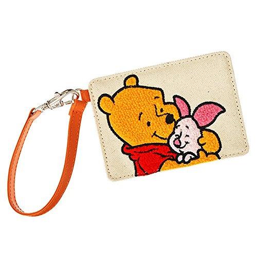 Card Case Collection : Friendship Hug Winnie the Pooh& Piglet Card Case Landyard