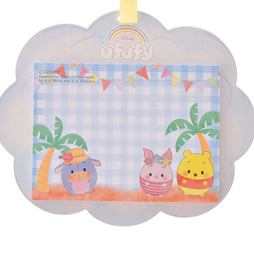 Memo Collection - Winnie The Pooh & Piglet Ufufy Cloud Memo Pad