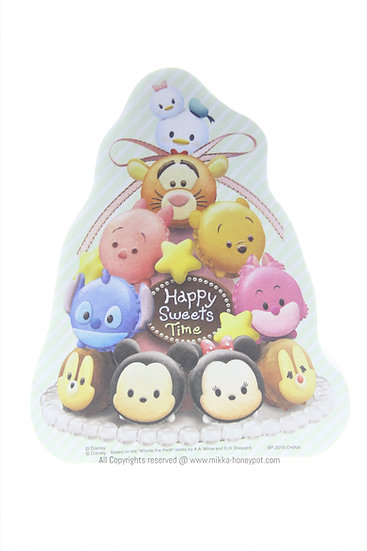 Memo Collection - Tsum Tsum Happy Sweets Time Mickey & Friends Macaron Memo
