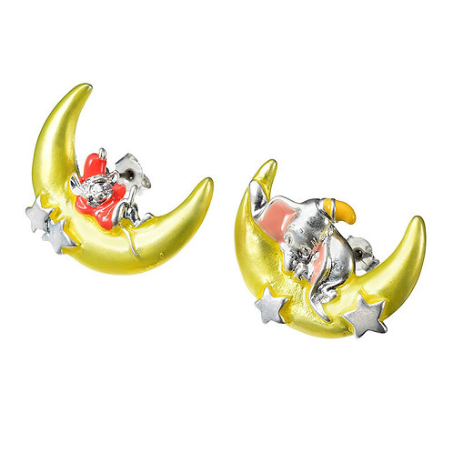 Earring Collection : Dumbo & Timothy Classic Moon Dreaming Earring