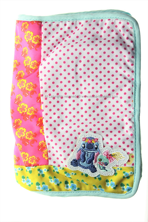 Make-up Pouch Collection : Lilo & Stitch Travel Pouch with Coin Case + notepad
