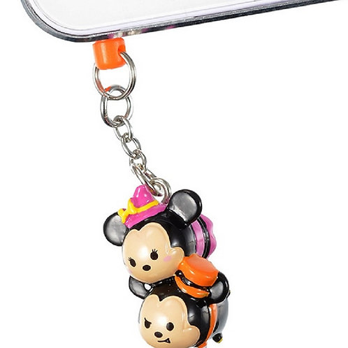 Halloween Mickey&Minnie tsum tsum hand phone dust