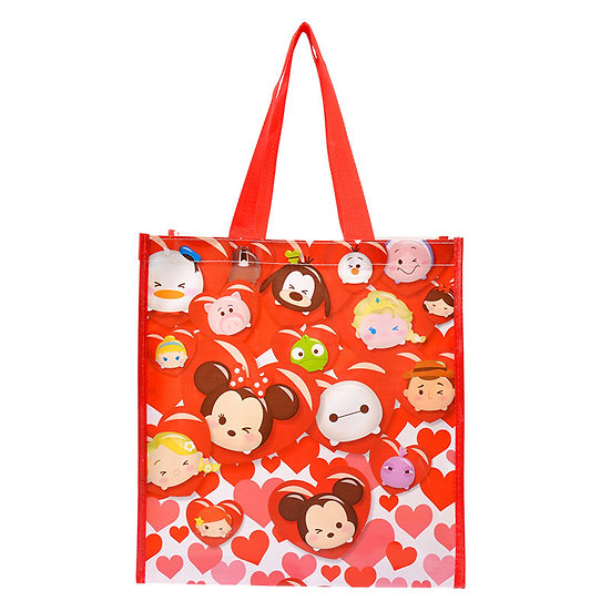Bag Collection - Mickey & Friends Tsum Tsum Valentine love! Shopping Tote Bag