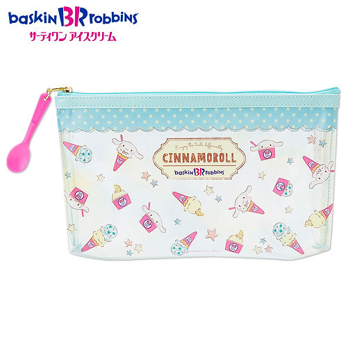 Make-up Pouch Collection : Cinnamoroll baskin Robbins
