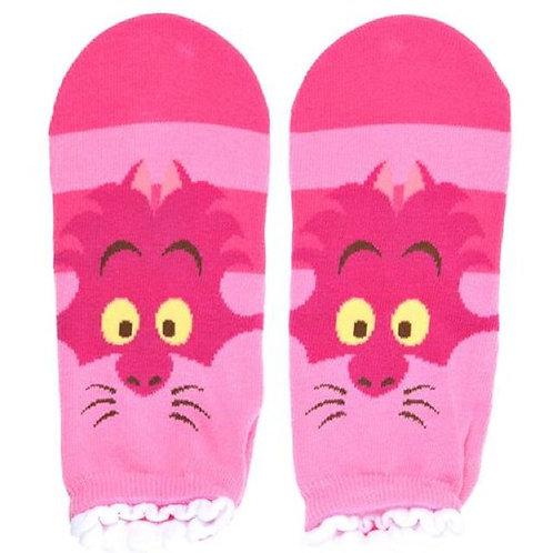 Sock Series : Alice in wonderland Chesire sock