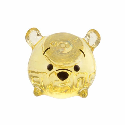 Single Design Earring Collection : Tsum Tsum Winnie The Pooh Transparent Earring