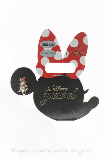 Single Design Earring Collection : Christmas Minnie Tree Earring