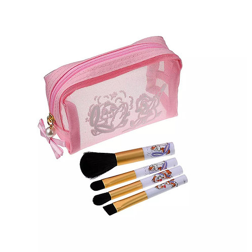 Make up Series - Chip & Dale Makeup Brush with Mini Pouch