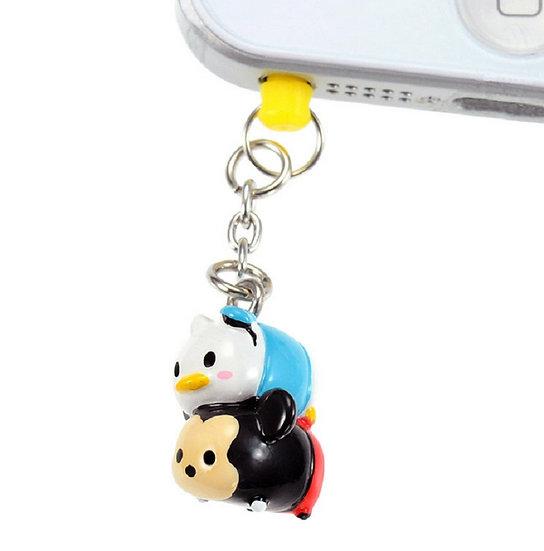 DUST PLUG - Mickey & Donald Tsum Tsum Dust Plug
