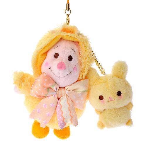 Plushie Keychain Series : Easter 2016 Piglet Plushie Keychain