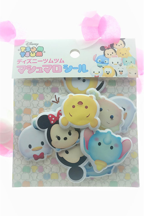 Sticker Pack Collection - Tsum Tsum Pop Out Sticker Pack 1