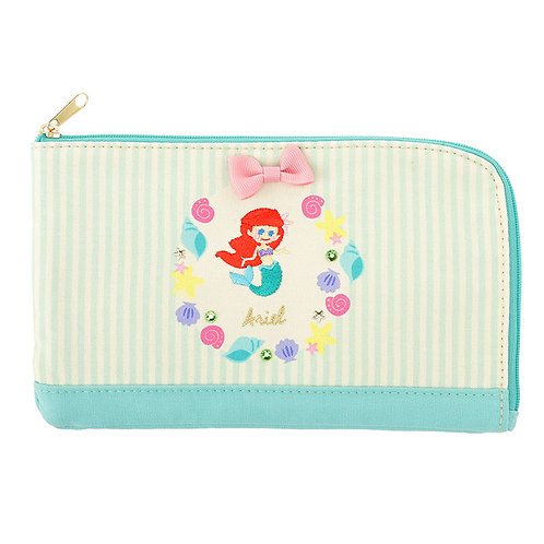 Make-up Pouch Collection : Graffiti Little Mermaid Ariel mask Pouch