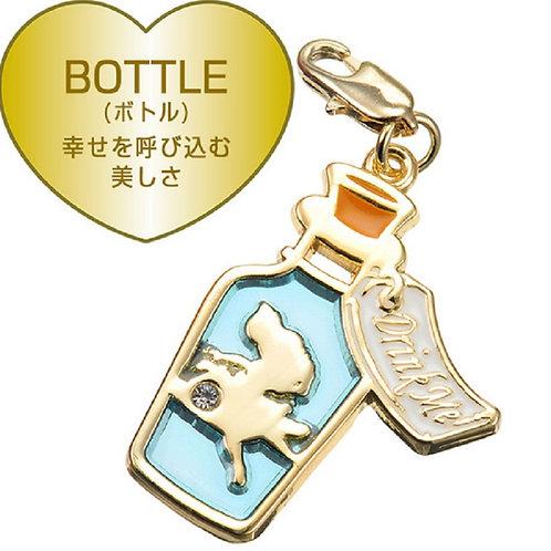 Alice in wonderland - alice in the bottle charm