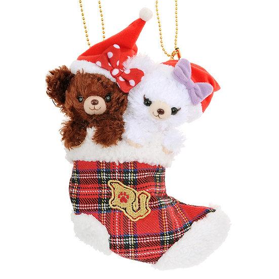 Unibearsity Keychain Collection - Pudding & Puffy Unibearsity Christmas Sock