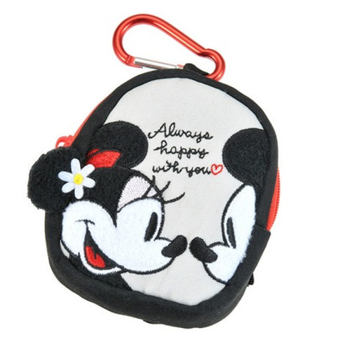 Coin Pouch Collection : Mickey and Minnie Coin Pouch with Carbine Hook