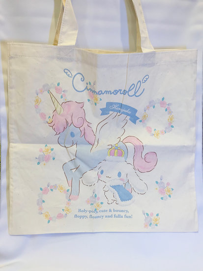 Cotton Style Tote Bag Series : Harajuku Exclusive Tote Bag - Cinnamorolll