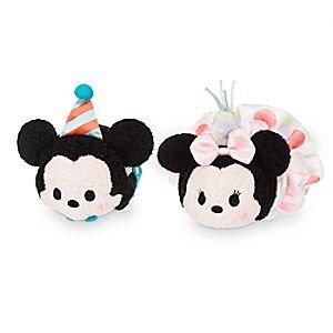 DISNEY TSUM TSUM SET - USA Birthday 2016 Mickey and Minnie Tsum Tsum set