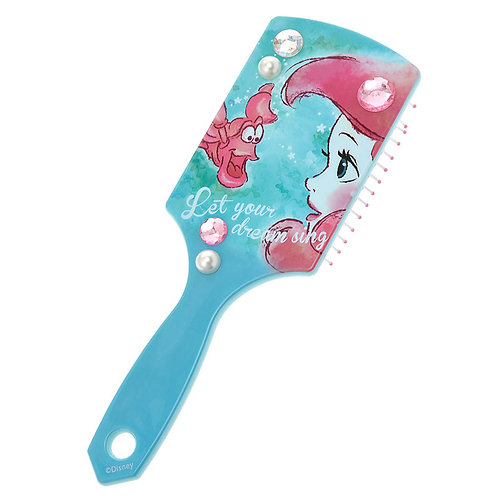 Hair Brush Series -  Ariel & Sebastian Crystal fun