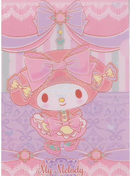 File Sanrio Series: My Melody Pink edition Puroland Exclusive 1 Pocket File