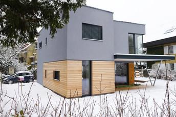 Einfamilienhaus Holzbauweise